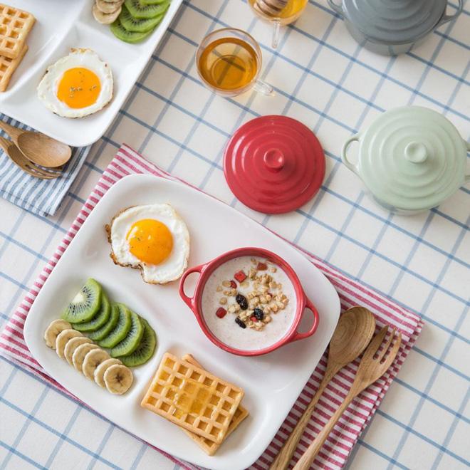 Căn bếp đẹp lãng mạn như trong phim Hàn khi có sự hiện diện của những chiếc đĩa đáng yêu này - Ảnh 7.