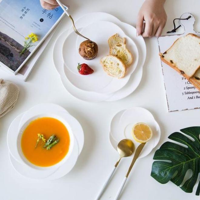 Căn bếp đẹp lãng mạn như trong phim Hàn khi có sự hiện diện của những chiếc đĩa đáng yêu này - Ảnh 10.