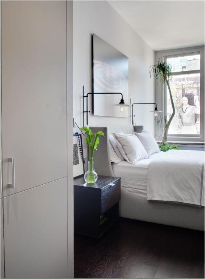Phòng ngủ đẹp lung linh với gợi ý trang trí bằng đèn gắn tường - Ảnh 1.