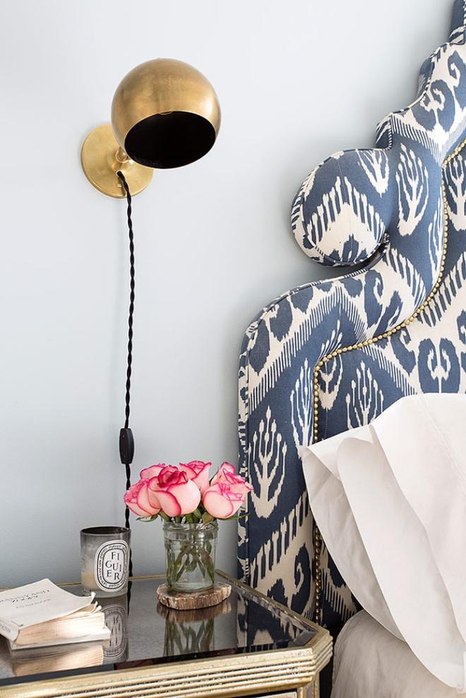 Phòng ngủ đẹp lung linh với gợi ý trang trí bằng đèn gắn tường - Ảnh 4.