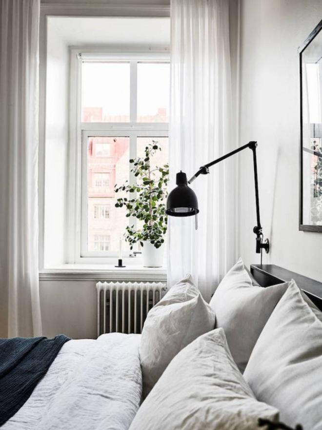 Phòng ngủ đẹp lung linh với gợi ý trang trí bằng đèn gắn tường - Ảnh 8.