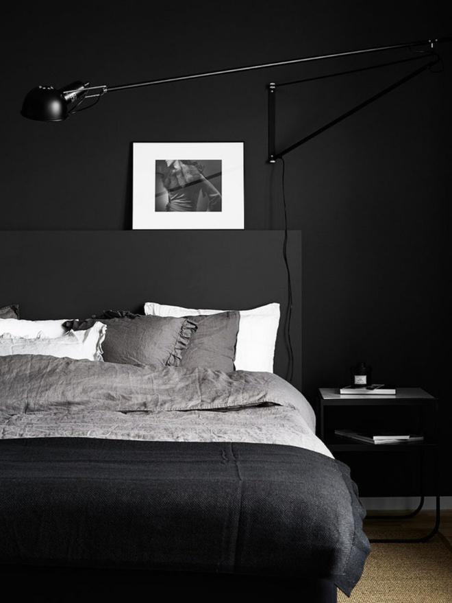 Phòng ngủ đẹp lung linh với gợi ý trang trí bằng đèn gắn tường - Ảnh 9.