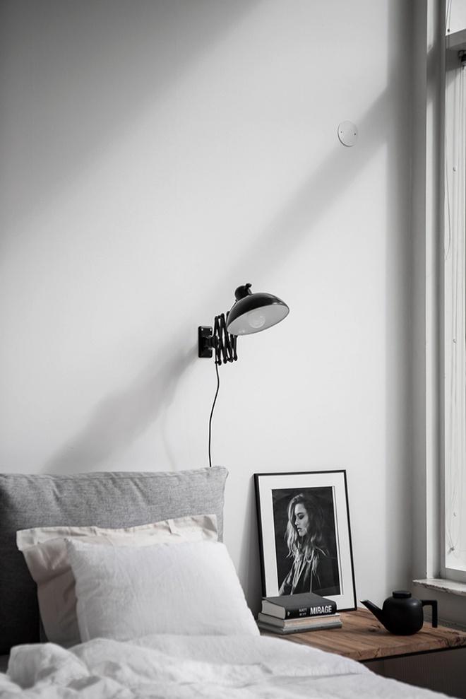 Phòng ngủ đẹp lung linh với gợi ý trang trí bằng đèn gắn tường - Ảnh 12.