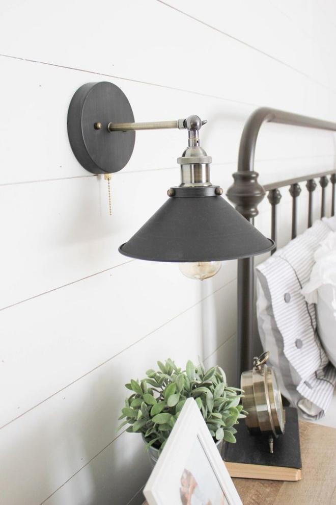 Phòng ngủ đẹp lung linh với gợi ý trang trí bằng đèn gắn tường - Ảnh 13.
