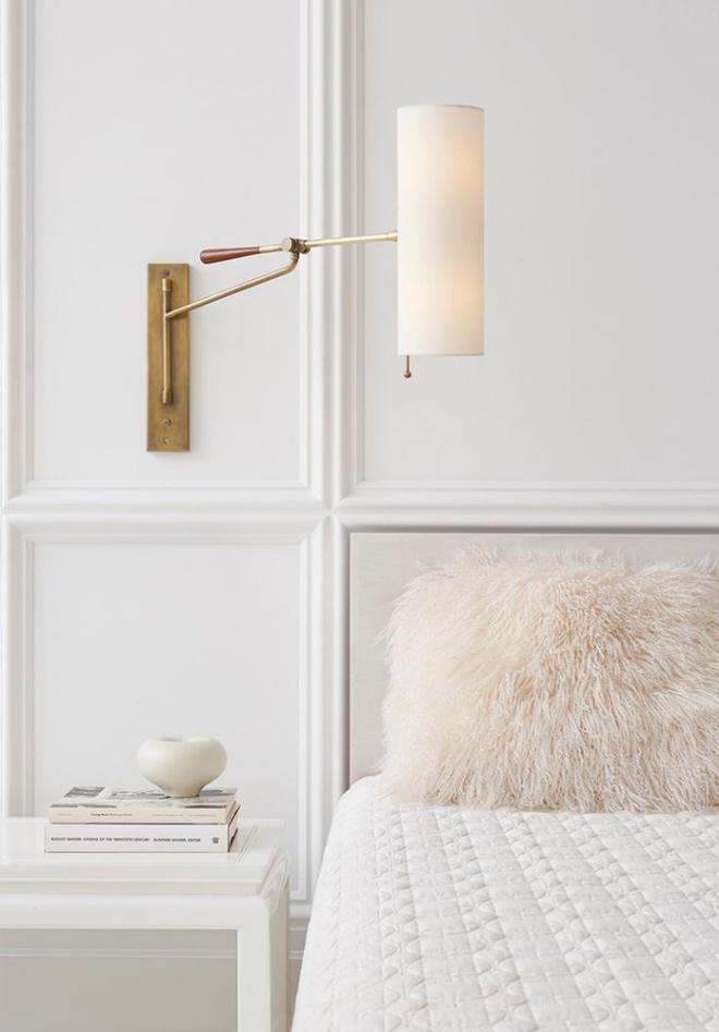 Phòng ngủ đẹp lung linh với gợi ý trang trí bằng đèn gắn tường - Ảnh 17.