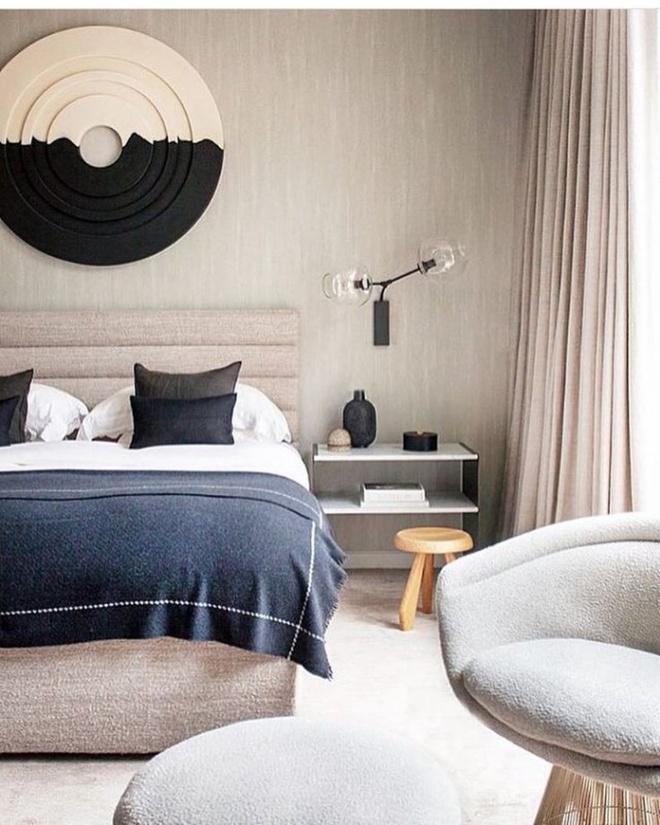 Phòng ngủ đẹp lung linh với gợi ý trang trí bằng đèn gắn tường - Ảnh 18.
