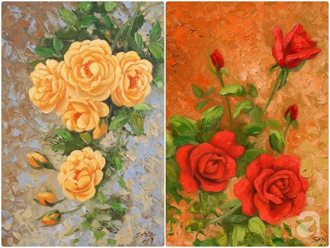 Khu vườn hoa hồng trên mây dịu dàng như một bài thơ của chàng họa sĩ trẻ ở TP. HCM - Ảnh 16.