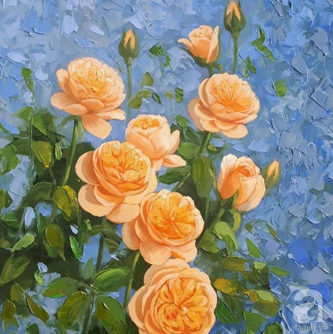 Khu vườn hoa hồng trên mây dịu dàng như một bài thơ của chàng họa sĩ trẻ ở TP. HCM - Ảnh 17.