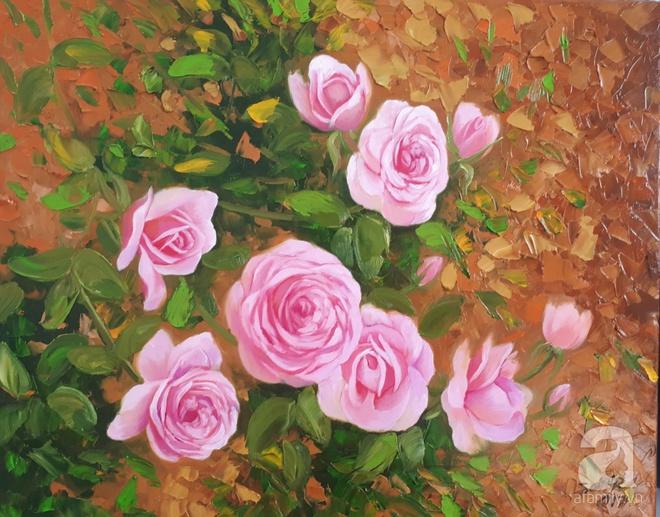 Khu vườn hoa hồng trên mây dịu dàng như một bài thơ của chàng họa sĩ trẻ ở TP. HCM - Ảnh 20.