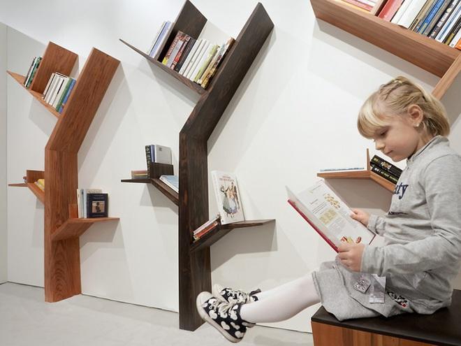5 ý tưởng thiết kế giá sách vừa đẹp vừa sang trọng   - Ảnh 3.