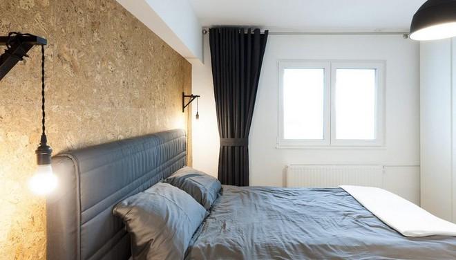 Căn hộ nhỏ trang trí theo phong cách tối giản đẹp hút mắt nhờ điểm nhấn màu sắc tinh tế - Ảnh 6.