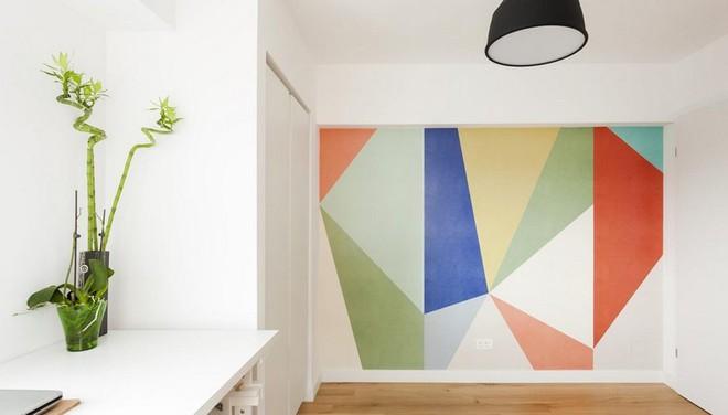 Căn hộ nhỏ trang trí theo phong cách tối giản đẹp hút mắt nhờ điểm nhấn màu sắc tinh tế - Ảnh 8.