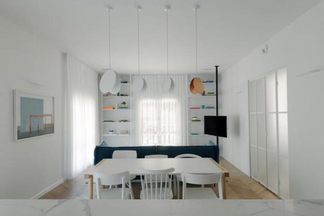 Cải tạo căn hộ tối tăm được xây dựng từ năm 1930 thành không gian ngập tràn ánh sáng - Ảnh 4.