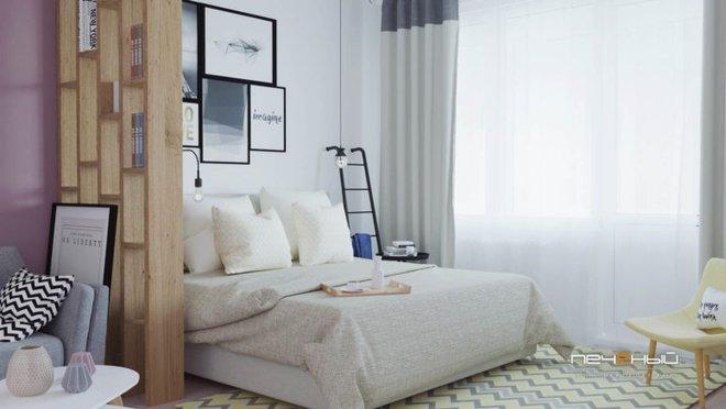 Cô gái trẻ biến căn phòng đi thuê 15m² thành căn hộ khép kín siêu đẹp nhờ giải pháp sáng tạo - Ảnh 1.