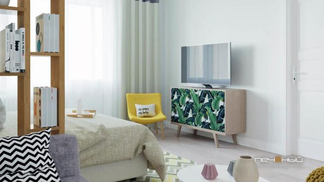 Cô gái trẻ biến căn phòng đi thuê 15m² thành căn hộ khép kín siêu đẹp nhờ giải pháp sáng tạo  - Ảnh 2.