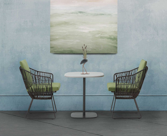 Thiết kế ghế nhựa dẻo đẹp cho góc thư giãn ngoài trời thêm trẻ trung và phong cách - Ảnh 3.