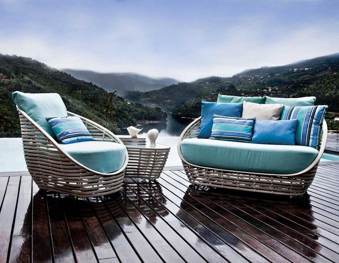 Thiết kế ghế nhựa dẻo đẹp cho góc thư giãn ngoài trời thêm trẻ trung và phong cách - Ảnh 5.