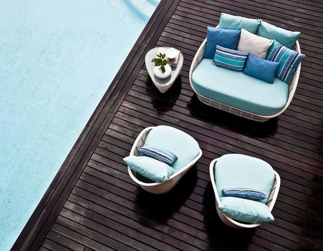 Thiết kế ghế nhựa dẻo đẹp cho góc thư giãn ngoài trời thêm trẻ trung và phong cách - Ảnh 6.