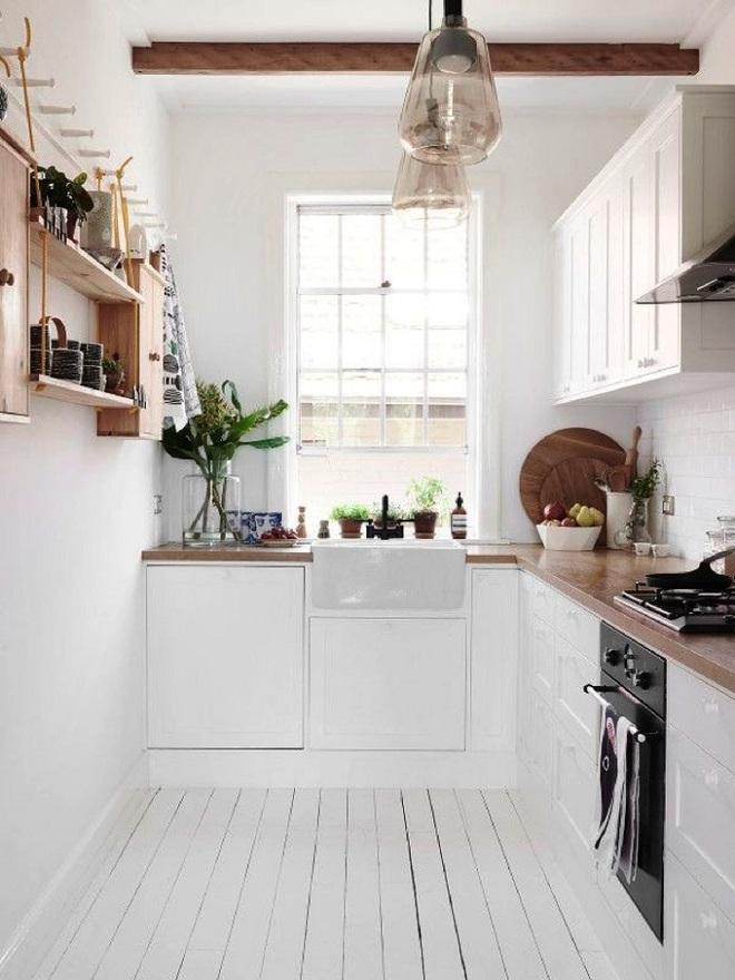 Thiết kế nhà bếp chỉ 2m² thật dễ dàng nhờ sự thông minh và sáng tạo - Ảnh 2.