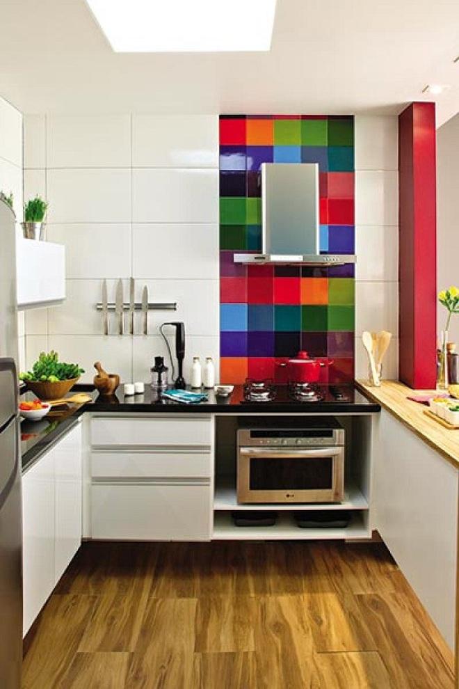 Thiết kế nhà bếp chỉ 2m² thật dễ dàng nhờ sự thông minh và sáng tạo - Ảnh 8.