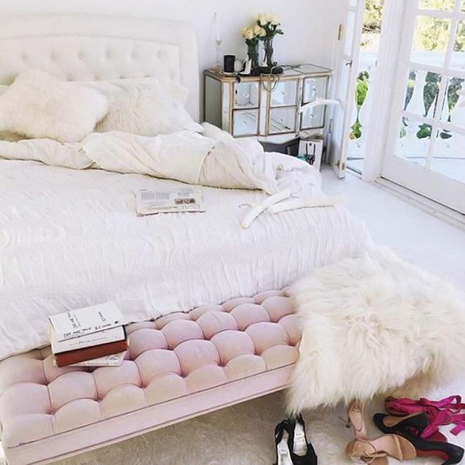 3 lưu ý khi thiết kế để có phòng ngủ cực đẹp cho những cô nàng thích làm công chúa - Ảnh 1.
