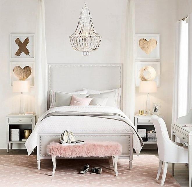 3 lưu ý khi thiết kế để có phòng ngủ cực đẹp cho những cô nàng thích làm công chúa - Ảnh 3.