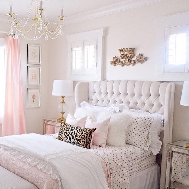 3 lưu ý khi thiết kế để có phòng ngủ cực đẹp cho những cô nàng thích làm công chúa - Ảnh 12.