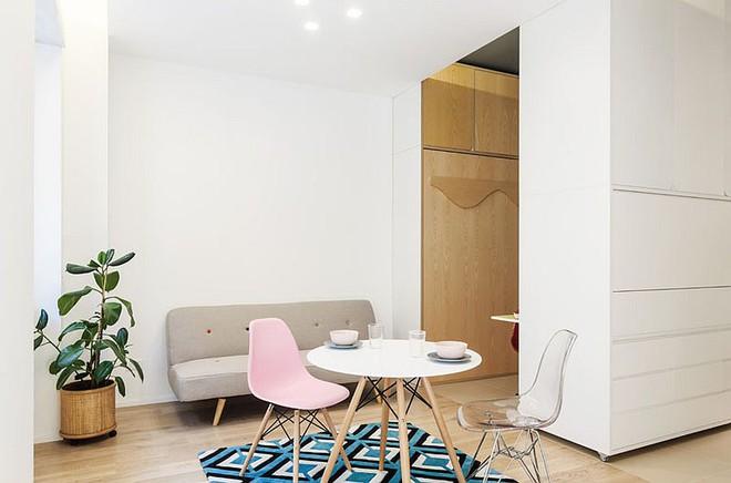Căn hộ 30m² được thiết kế và bài trí đẹp không kém gì căn hộ cao cấp - Ảnh 1.