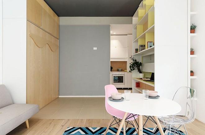 Căn hộ 30m² được thiết kế và bài trí đẹp không kém gì căn hộ cao cấp - Ảnh 4.