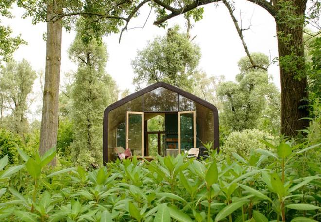 """Ngôi nhà nhỏ 50m² đẹp lãng mạn và có thể """"mang theo"""" đến bất kỳ đâu - Ảnh 1."""
