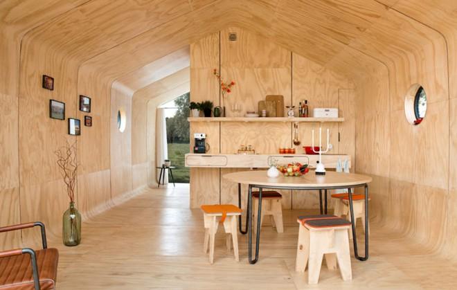 """Ngôi nhà nhỏ 50m² đẹp lãng mạn và có thể """"mang theo"""" đến bất kỳ đâu - Ảnh 6."""