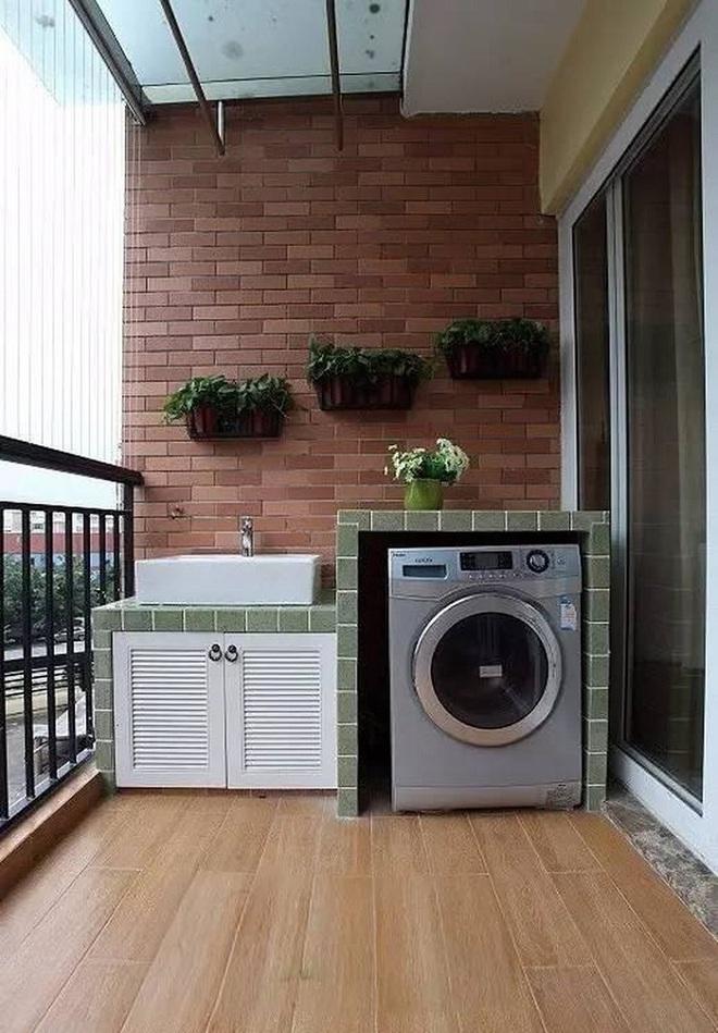 Đặt máy giặt ở ban công – giải pháp cho nhà ở chung cư có diện tích chật chội - Ảnh 6.