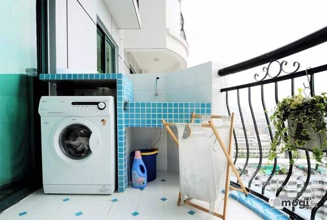 Đặt máy giặt ở ban công – giải pháp cho nhà ở chung cư có diện tích chật chội - Ảnh 8.