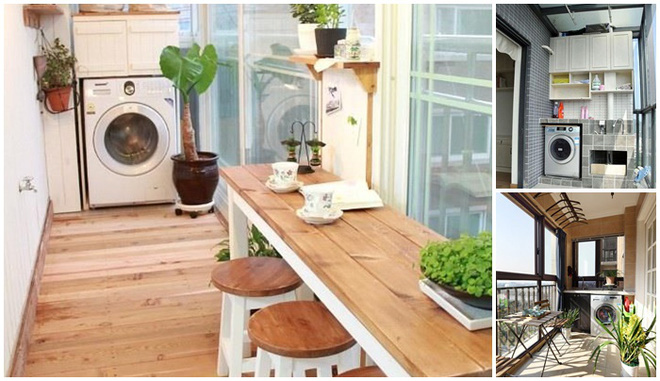 Đặt máy giặt ở ban công – giải pháp cho nhà ở chung cư có diện tích chật chội - Ảnh 10.