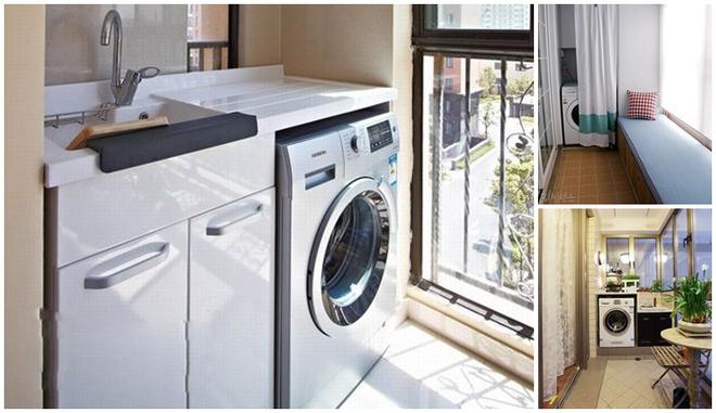 Đặt máy giặt ở ban công – giải pháp cho nhà ở chung cư có diện tích chật chội - Ảnh 12.