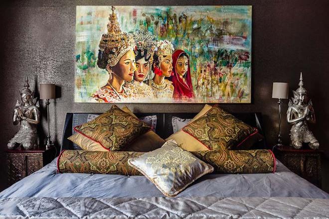 7 ý tưởng quá dễ dàng để trang trí đầu giường giúp phòng ngủ trở nên cuốn hút bất ngờ - Ảnh 6.