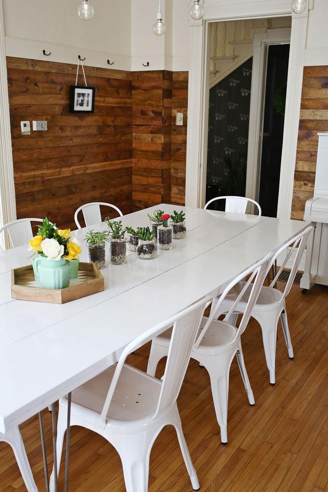 Bàn ăn màu trắng - Đơn giản và phù hợp với mọi phong cách trang trí nhà - Ảnh 5.