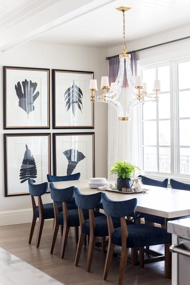 Bàn ăn màu trắng - Đơn giản và phù hợp với mọi phong cách trang trí nhà - Ảnh 8.