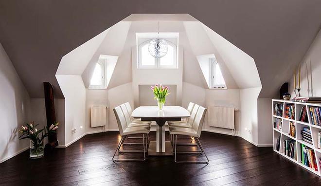 Bàn ăn màu trắng - Đơn giản và phù hợp với mọi phong cách trang trí nhà - Ảnh 10.
