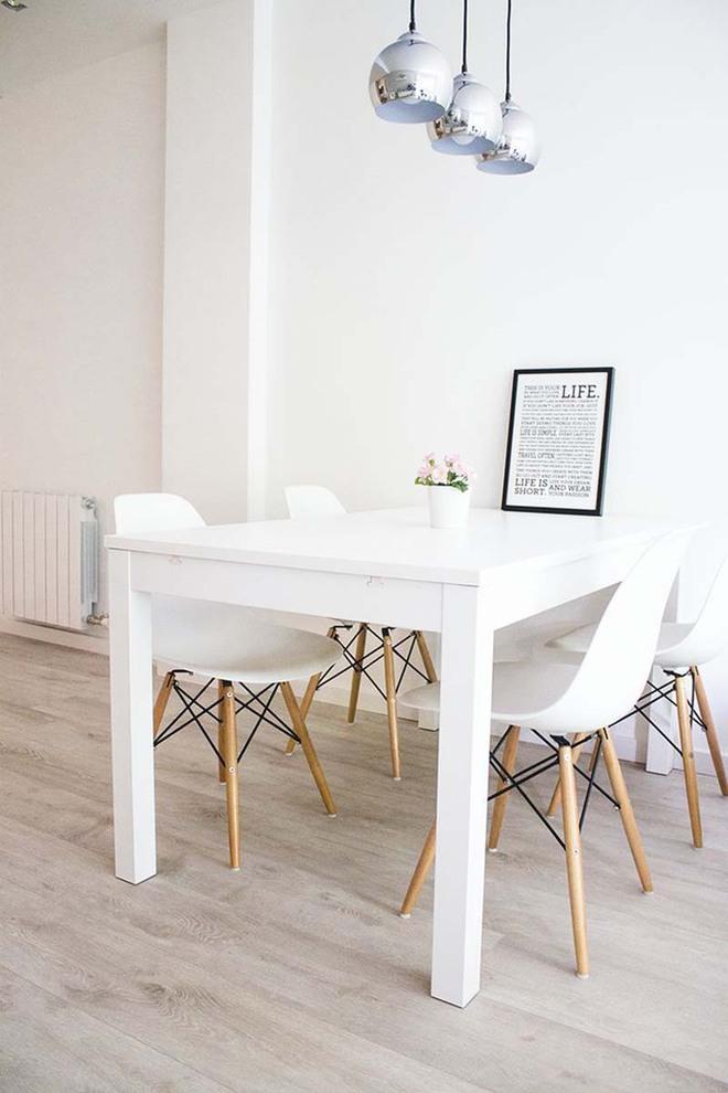 Bàn ăn màu trắng - Đơn giản và phù hợp với mọi phong cách trang trí nhà - Ảnh 13.