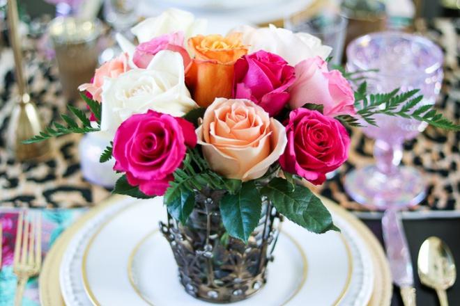 Các kiểu cắm hoa tươi đơn giản mà ấn tượng cho nhà đẹp dịp năm mới - Ảnh 9.