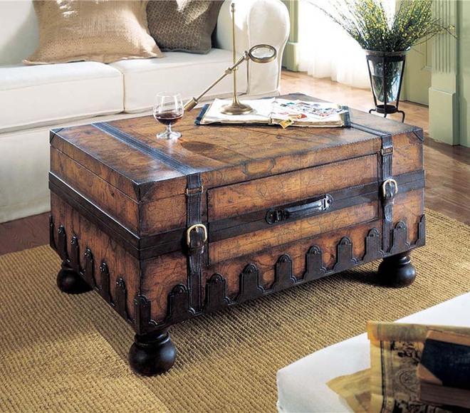 Không ngờ những chiếc vali cũ lại có thể giúp cho phòng khách đẹp đến như vậy - Ảnh 9.