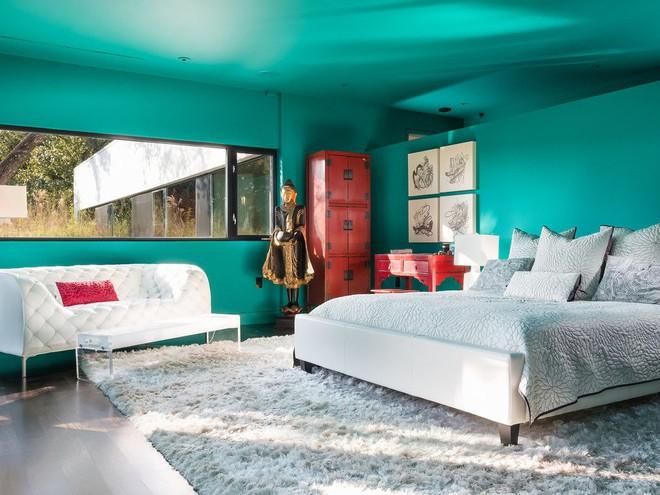 Những căn phòng ngủ bình yên đến không ngờ nhờ phong cách Á Đông - Ảnh 3.