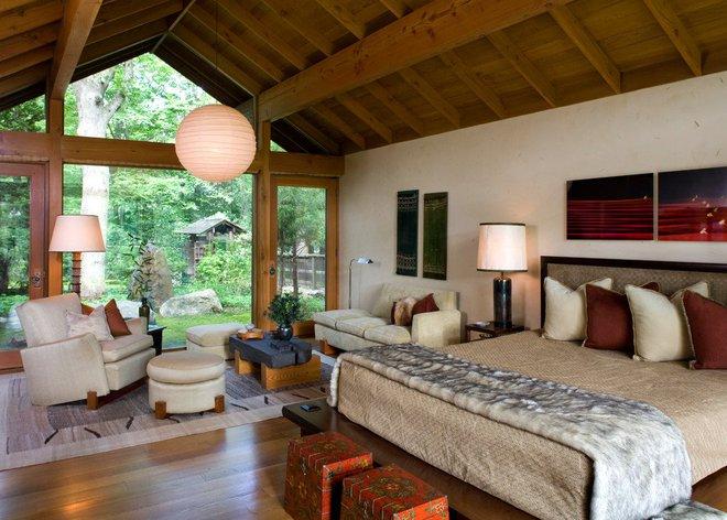 Những căn phòng ngủ bình yên đến không ngờ nhờ phong cách Á Đông - Ảnh 4.