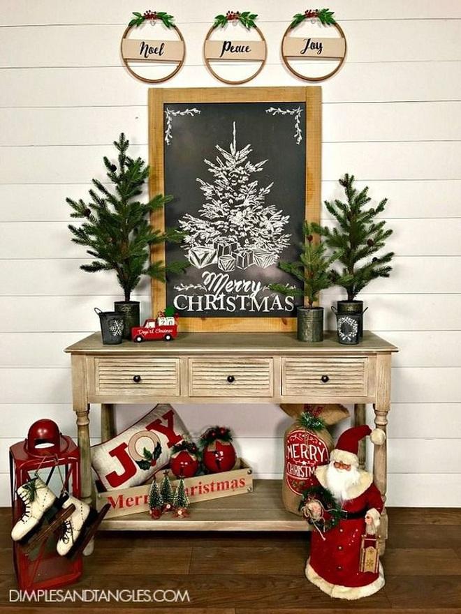 14 mẫu thiết kế bàn đẹp và độc dành cho mùa giáng sinh 2017: Nhìn là muốn bắt tay vào thực hiện ngay - Ảnh 4.