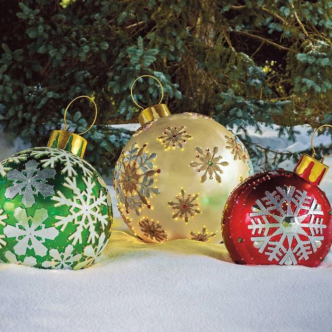 Đồ trang trí quá khổ - Item cực hot cho không gian nhà bạn trong Giáng sinh năm nay - Ảnh 1.
