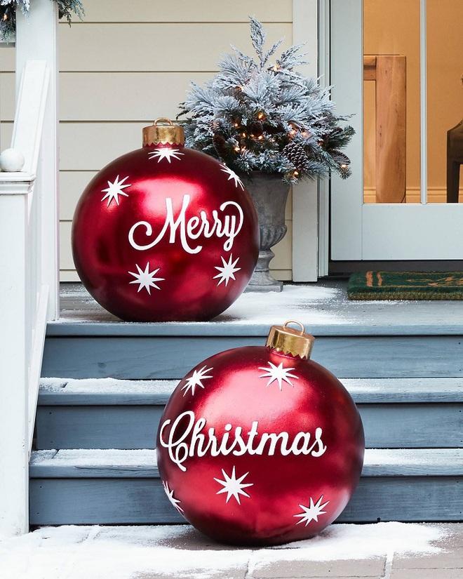 Đồ trang trí quá khổ - Item cực hot cho không gian nhà bạn trong Giáng sinh năm nay - Ảnh 4.