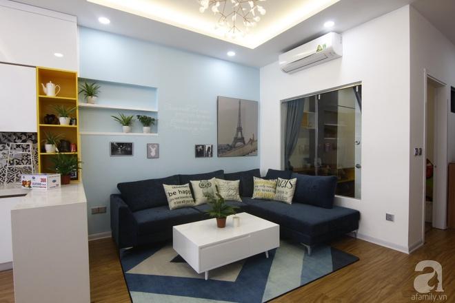 Căn hộ 75m² với điểm nhấn nghệ thuật từ ánh sáng có chi phí rẻ đến bất ngờ ở Hoàng Mai, Hà Nội - Ảnh 2.