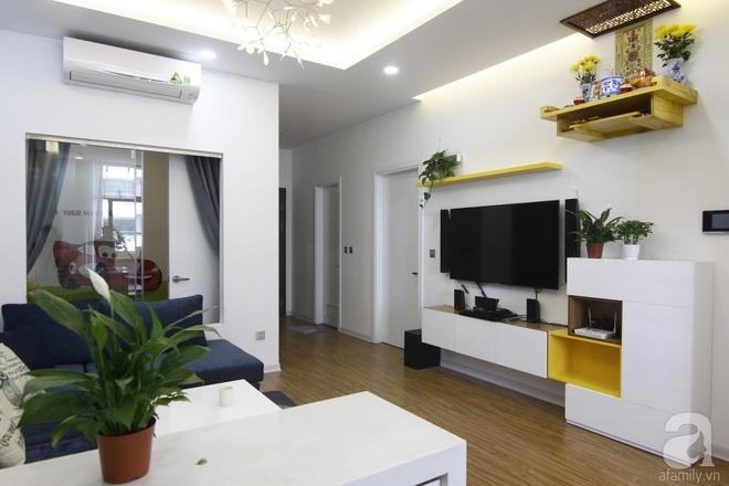 Căn hộ 75m² với điểm nhấn nghệ thuật từ ánh sáng có chi phí rẻ đến bất ngờ ở Hoàng Mai, Hà Nội - Ảnh 3.