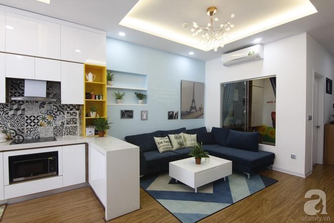 Căn hộ 75m² với điểm nhấn nghệ thuật từ ánh sáng có chi phí rẻ đến bất ngờ ở Hoàng Mai, Hà Nội - Ảnh 4.